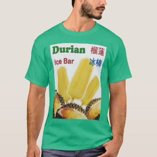 Durian Ice Bar Tropical Fruit Popsicle T-Shirt