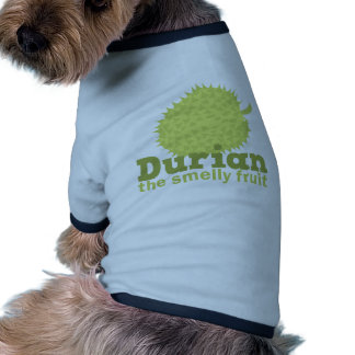 Durian the smelly fruit doggie tee shirt
