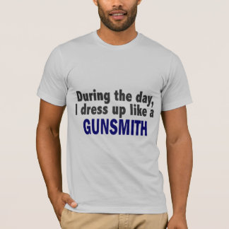 During The Day I Dress Up Like A Gunsmith