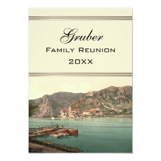"Dürnstein, Austria Family Reunion 5"" X 7"" Invitation Card"