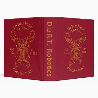 DURT Robotics 3-Ring Binder