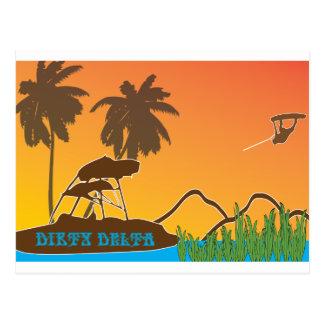 durty delta postcard