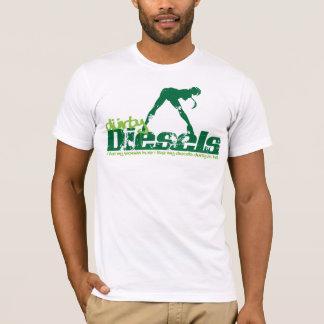 Durty Diesels Green Grunge T-Shirt