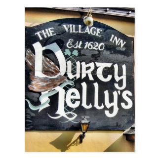 Durty Nelly's Pub Postcard