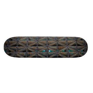 Dusable Bridge Abstract Custom Skateboard