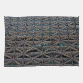 Dusable Bridge Abstract Kitchen Towel