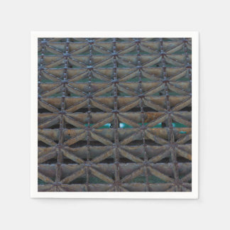 Dusable Bridge Abstract Paper Napkin
