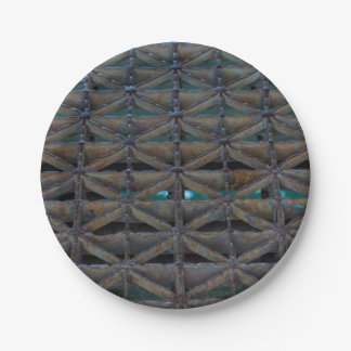 Dusable Bridge Abstract Paper Plate