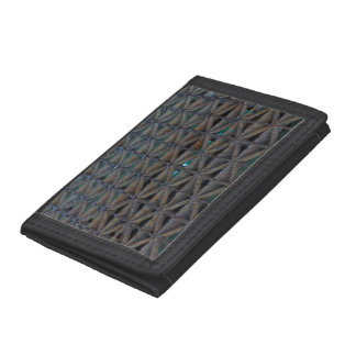 Dusable Bridge Abstract Tri-fold Wallets