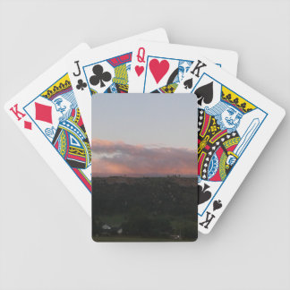 Dusk 1 bicycle playing cards