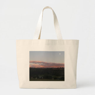 Dusk 1 large tote bag