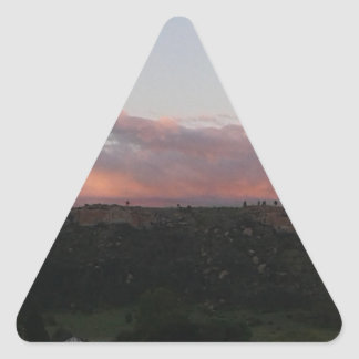 Dusk 1 triangle sticker