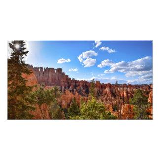Dusk at Bryce Canyon Photo Print