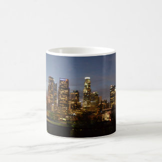 dusk at Downtown Los Angeles Coffee Mug