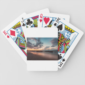 Dusk Bicycle Playing Cards