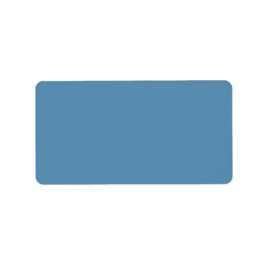 Dusk Blue Trend Colour Customized Template Blank