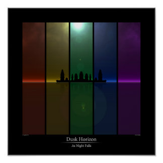 Dusk Horizon - As Night Falls Poster