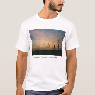 Dusk on mount St. Pieter T-Shirt