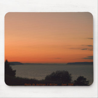 Dusk On Puget Sound Mouse Pad