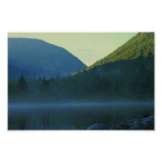 Dusk on Saco Lake Photo Print