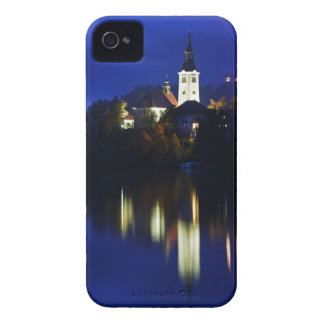 Dusk over Lake Bled iPhone 4 Case-Mate Cases