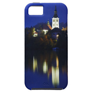 Dusk over Lake Bled iPhone 5 Covers
