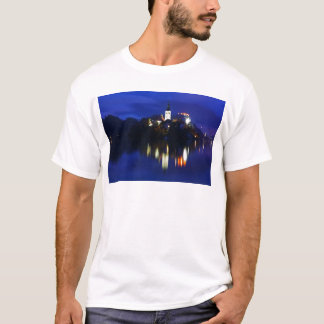 Dusk over Lake Bled T-Shirt
