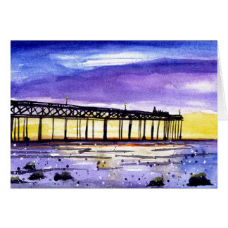 Dusk Pier Card
