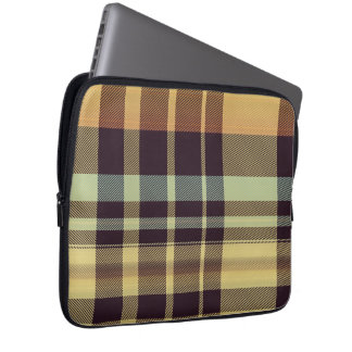 Dusk Plaid Laptop Sleeve