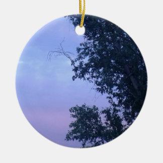 Dusk Sky Ceramic Ornament