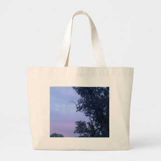 Dusk Sky Large Tote Bag