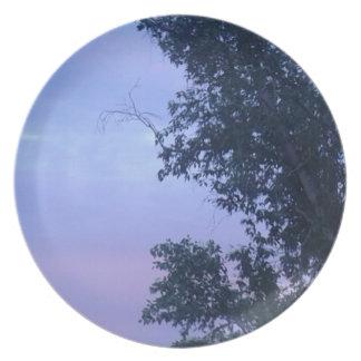 Dusk Sky Plate