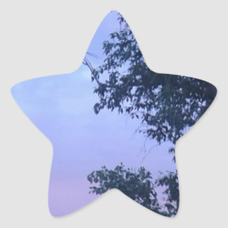 Dusk Sky Star Sticker