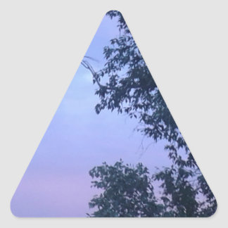 Dusk Sky Triangle Sticker
