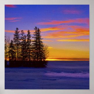 Dusk Sunset_ Print
