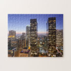 Dusk View Los Angeles Jigsaw Puzzle