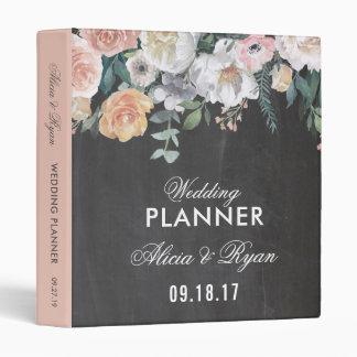 Dusk Watercolor Flower | Planner Binders