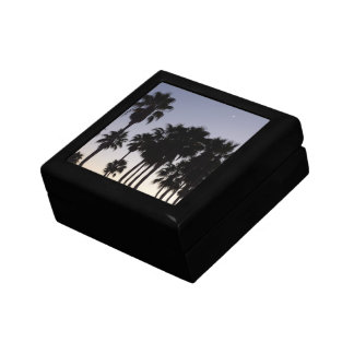 Dusk with Palm Trees Gift Box