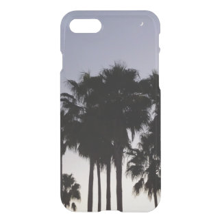 Dusk with Palm Trees Tropical Scene iPhone 8/7 Case