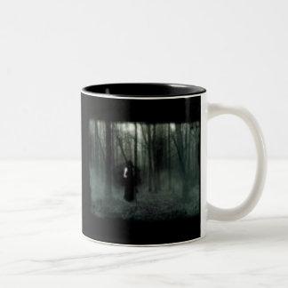 duskfalls3, DUSK FALLS OVER EDEN Two-Tone Coffee Mug