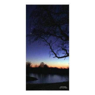 Dusk's Serenity Card Photo Cards