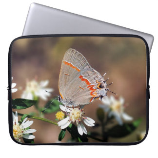 Dusky Blue Hairstreak Neoprene Laptop Sleeve