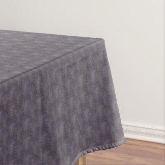 Dusky Blue Mauve Rust Tablecloth