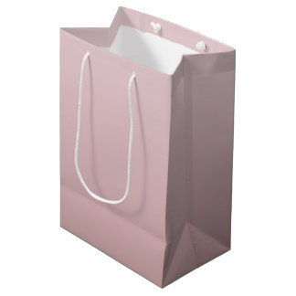 Dusky Pink Gradient Medium Gift Bag