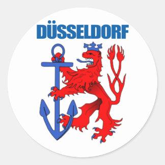 Dusseldorf Classic Round Sticker