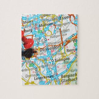 Düsseldorf, Germany Jigsaw Puzzle