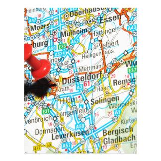 Düsseldorf, Germany Letterhead
