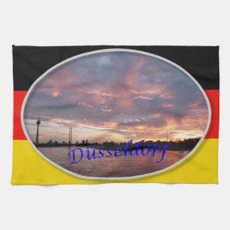 Dusseldorf Sunset Towel