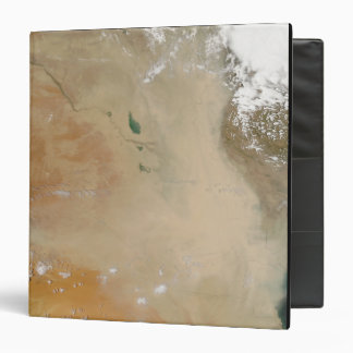Dust storm in the Middle East Vinyl Binder