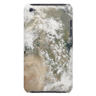 Dust storms over the Middle East iPod Case-Mate Case